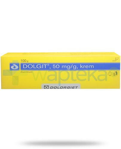 Dolgit 50mg/g krem przeciwbólowy 100 g