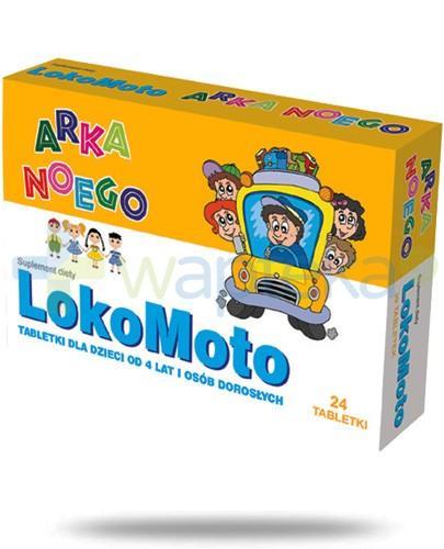 Domowa Apteczka Lokomoto Arka Noego 24 tabletki