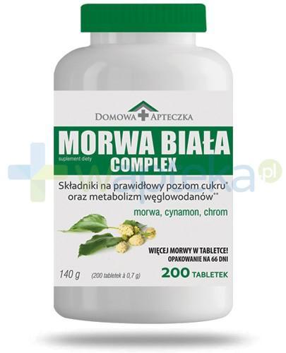 Domowa Apteczka Morwa Biała Complex 200 tabletek