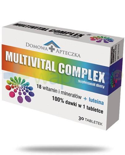 Domowa Apteczka Multivital Complex 30 tabletek