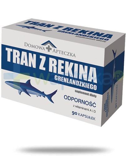 Domowa Apteczka tran z rekina grenlandzkiego 90 kapsułek