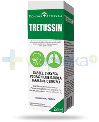 Domowa Apteczka Tretussin smak czarnej porzeczki 250 ml
