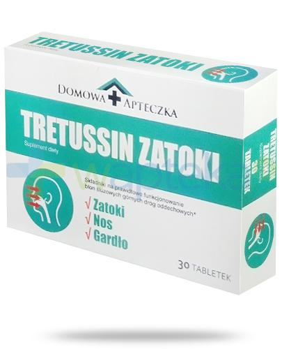 Domowa Apteczka Tretussin Zatoki 30 tabletek