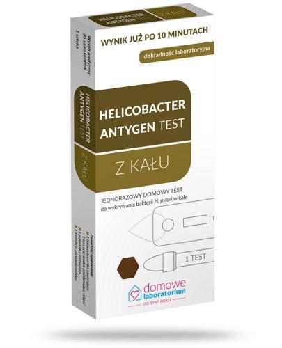 Domowe Laboratorium Helicobacter Antygen test z kału 1 sztuka