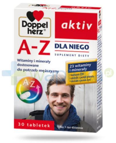 Doppelherz aktiv A-Z Dla Niego 30 tabletek