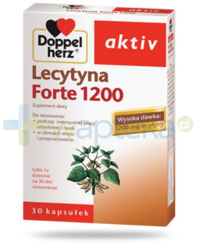 DoppelHerz Aktiv Lecytyna 1200 Forte 30 kapsułek