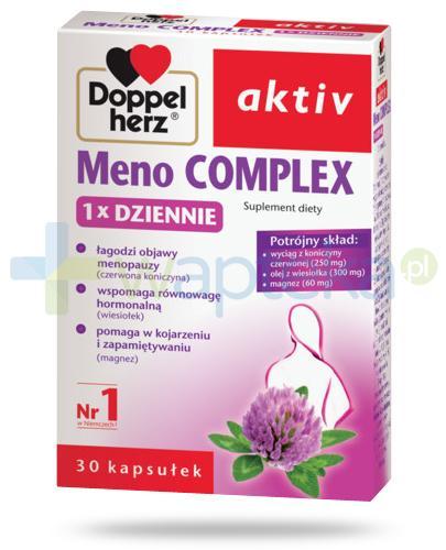 Doppelherz Aktiv Meno Complex 1x Dziennie 30 kapsułek