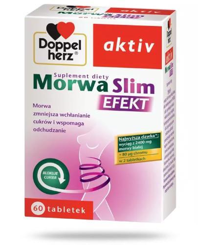 Doppelherz Aktiv Morwa Slim Efekt 60 tabletki