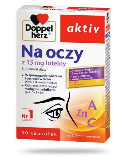 DoppelHerz Aktiv Na oczy 30 kapsułek