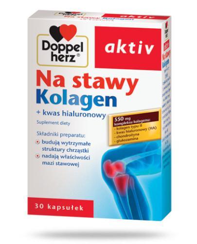 DoppelHerz Aktiv Na stawy Kolagen 30 kapsułek