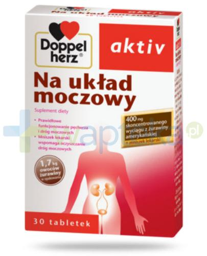 Doppelherz Aktiv Na układ moczowy 30 tabletek