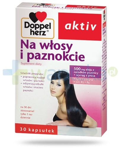 Doppelherz Aktiv Na włosy i paznokcie 30 kapsułek