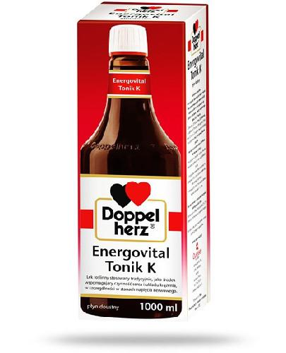 Doppelherz Energovital Tonik K, płyn doustny 1000 ml