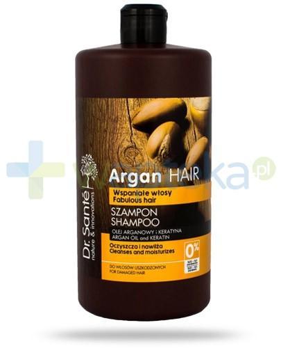 Dr. Sante Argan szampon z olejem arganowym i keratyną do włosów uszkodzonych 1000 ml Elfa Pharm