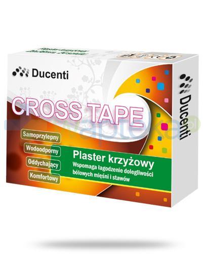 Ducenti Cross Tape plaster krzyżowy 28mm x 36mm 24  sztuki