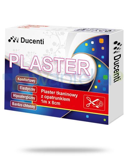 Ducenti plaster tkaninowy do cięcia z opatrunkiem 1m x 8cm