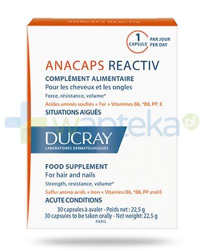 Ducray Anacaps Reactiv 30 kapsułek
