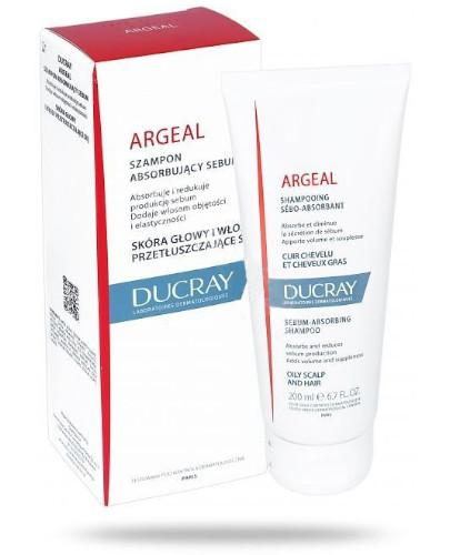 Ducray Argeal szampon do włosów tłustych absorbujący sebum 200 ml