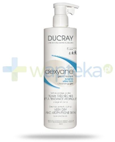 Ducray Dexyane ultra-bogaty żel oczyszczający skóra bardzo sucha i skłonna do atopii 400 ml