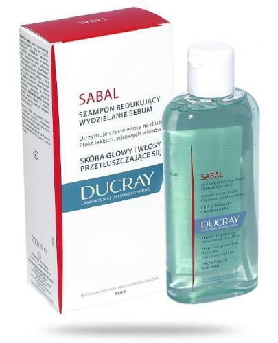 Ducray Sabal szampon do włosów tłustych 200 ml