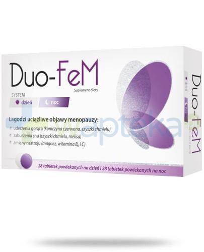 Duo-Fem system dzień i noc 2x 28 tabletek