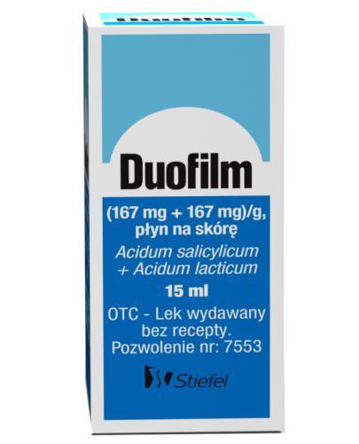 Duofilm płyn do stosowania na skórę 15 ml