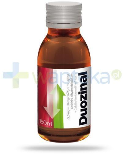 Duozinal lek przeciwalergiczny syrop 150 ml