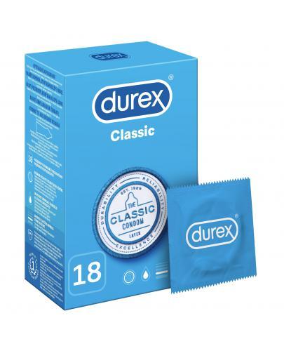 Durex Classic prezerwatywy 18 sztuk
