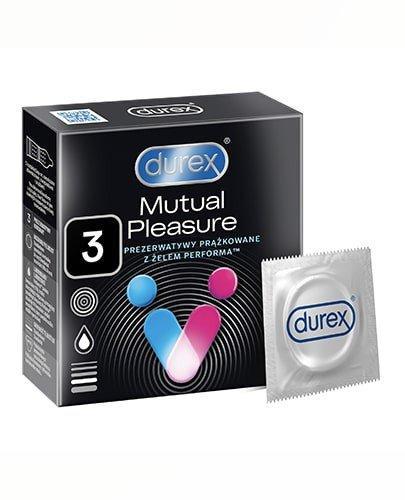 Durex Mutual Pleasure prezerwatywy 3 sztuki