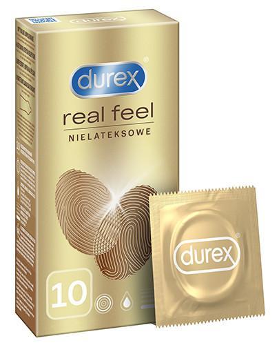 Durex RealFeel Ultra Smooth prezerwatywy 10 sztuk [KUP 2 dwa dowolne produkty DUREX = breloczek GRATIS]