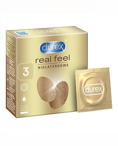 Durex RealFeel Ultra Smooth prezerwatywy 3 sztuki [KUP 2 dwa dowolne produkty DUREX = breloczek GRATIS]
