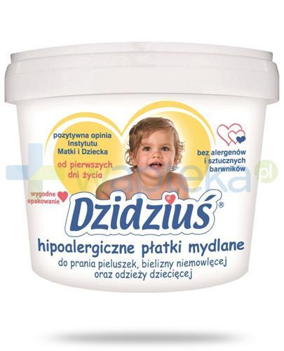 Dzidziuś hipoalergiczne płatki mydlane 400 g