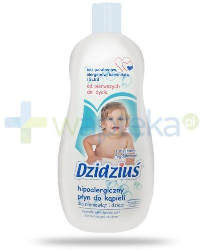 Dzidziuś hipoalergiczny płyn do kąpieli dla niemowląt i dzieci od pierwszych dni życia 500 ml