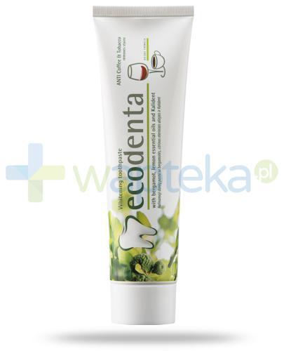 EcoDenta pasta do zębów wybielająca z olejkiem bergamotowym, cytrynowym i Kalident 100 ml