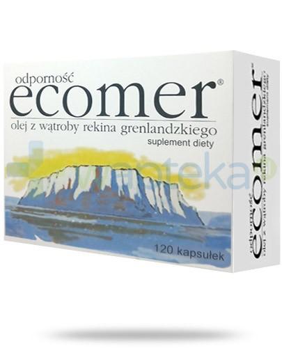 Ecomer Odporność olej z wątroby rekina grenlandzkiego 120 kapsułek