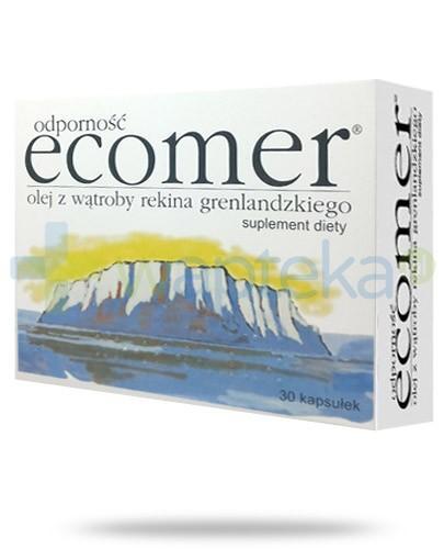 Ecomer Odporność olej z wątroby rekina grenlandzkiego 30 kapsułek