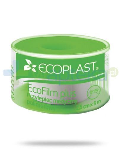 EcoPlast EcoFilm Plus przylepiec medyczny polimerowy 2,5x 500cm