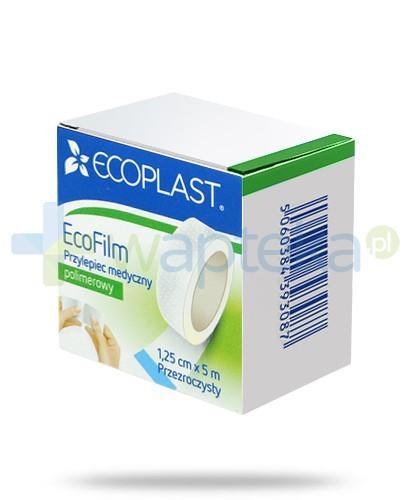 EcoPlast EcoFilm przylepiec medyczny polimerowy 1,25x 500cm