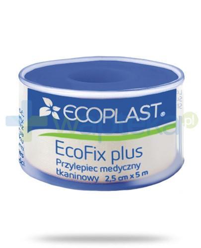 EcoPlast EcoFix Plus przylepiec medyczny tkaninowy 2,5x 500cm