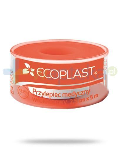 EcoPlast EcoPore Plus przylepiec medyczny włókninowy 1,25x 500cm