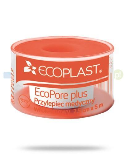 EcoPlast EcoPore Plus przylepiec medyczny włókninowy 2,5x 500cm