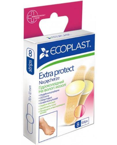 EcoPlast Na pęcherze zestaw plastrów medycznych 8 sztuk