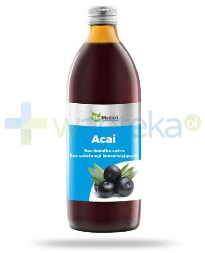 EkaMedica Acai sok pasteryzowany 500 ml [21649]