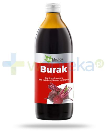 EkaMedica Burak sok pasteryzowany 1000 ml [20515]