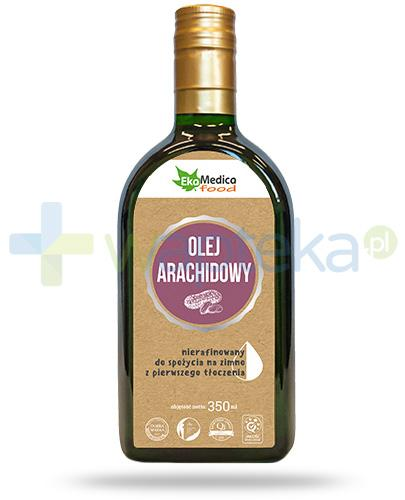 EkaMedica Food olej arachidowy nierafinowany 350 ml