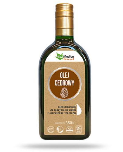 EkaMedica Food olej cedrowy nierafinowany 350 ml