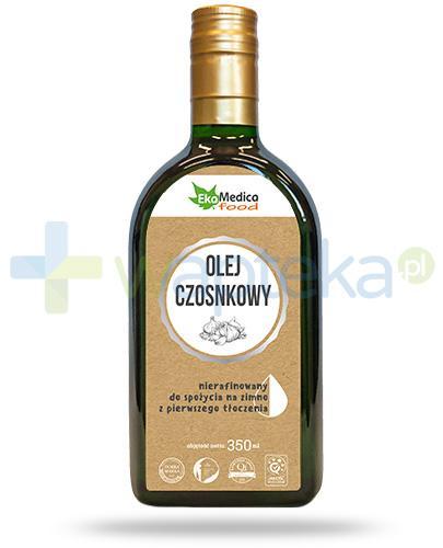 EkaMedica Food olej czosnkowy nierafinowany 350 ml