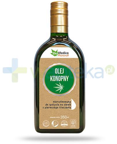 EkaMedica Food olej konopny nierafinowany 350 ml