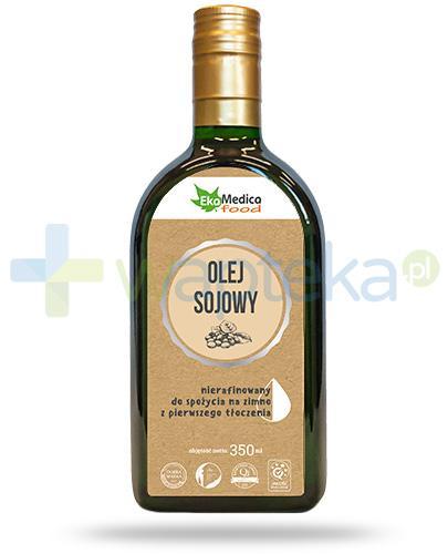 EkaMedica Food olej sojowy nierafinowany 350 ml