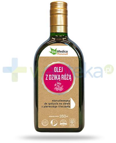EkaMedica Food olej z dziką różą nierafinowany 350 ml